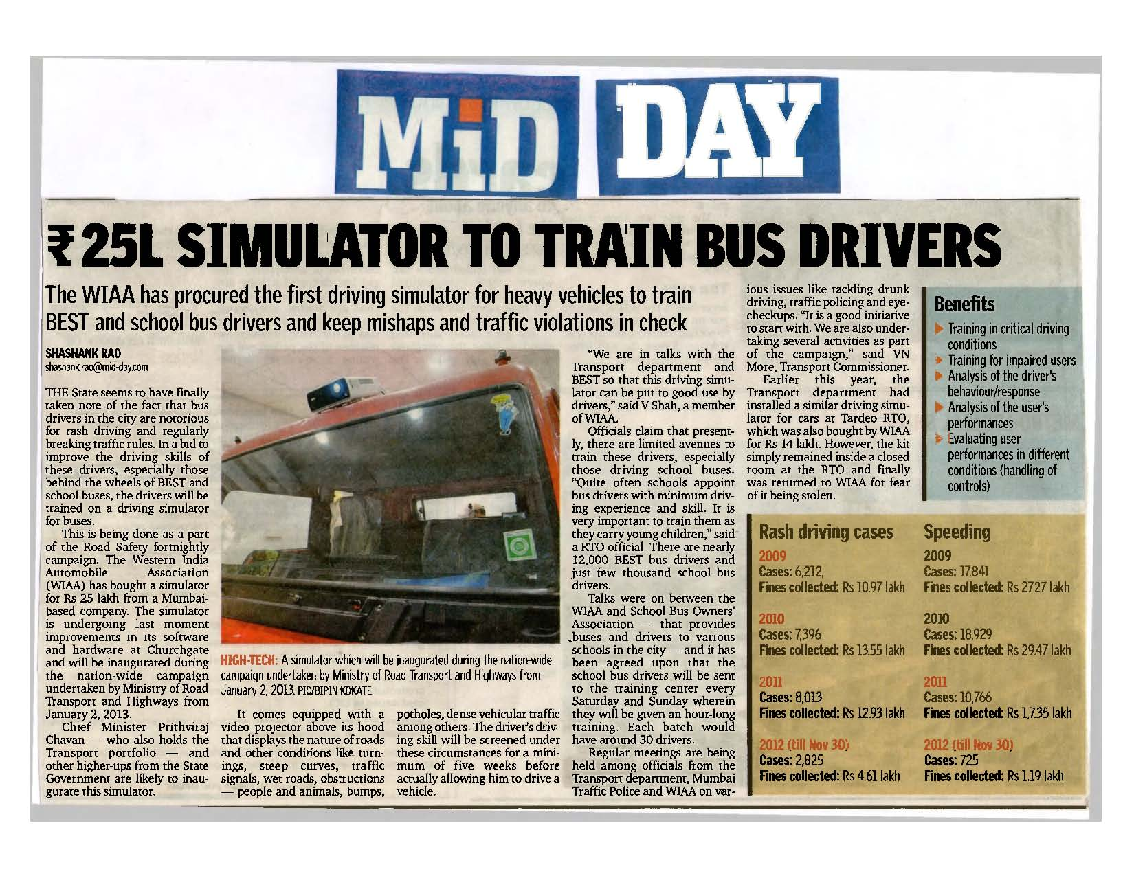 TecknoSim Bus Simulator in News January 1st 2013 copy