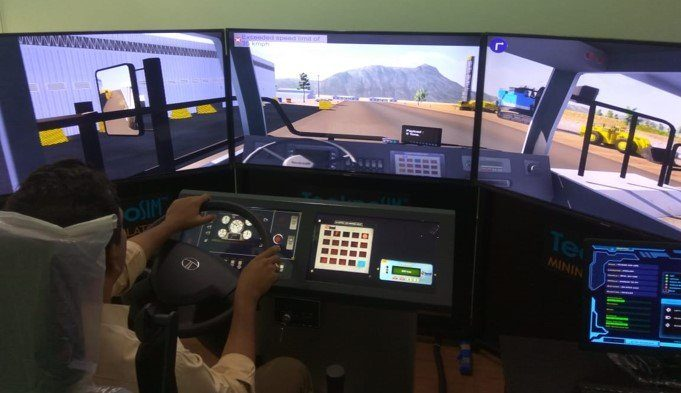 India's Tecknotrove supplies simulator training solutions for BEML's new electric drive mining trucks