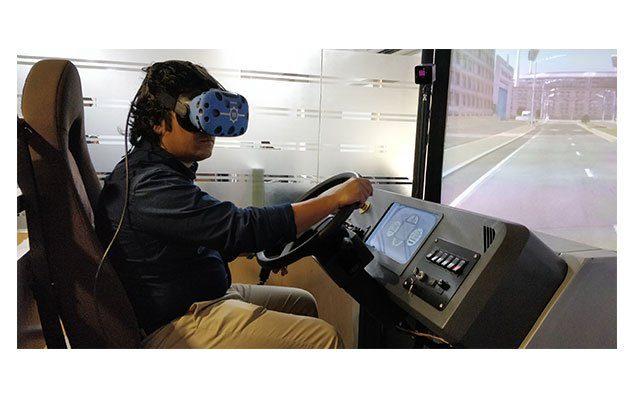 Fully-immersive virtual reality